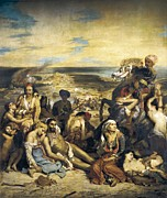 Orientalists Photo Posters - Delacroix, Eugène 1798-1863. The Poster by Everett