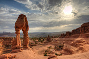 Arches National Park Framed Prints - Delicate Arch Framed Print by Jeff Lewis