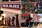 Memphis Tennessee Prints - Delta Blues Print by David Bearden