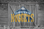 Nba Framed Prints - Denver Nuggets Framed Print by Joe Hamilton