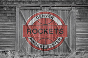Nba Framed Prints - Denver Rockets Framed Print by Joe Hamilton