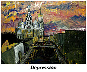 Orthodox Painting Framed Prints - Depression  Framed Print by Mark Moore