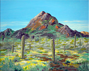 Dated Originals - Desert Solitude by Ron Thompson