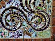 Detail Mosaics Print by Charles Lucas
