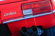 Featured Art - Detomaso Pantera Taillight Emblem by Jill Reger