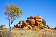 Attraction Prints - Devils Marbles Northern Territory Australia Print by Colin and Linda McKie