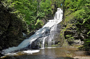 Dingmans Falls Photos - Dingmans Falls by Dave Sandt