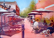 Cobb Originals - Dining Along Marietta Square by Kathy Rennell Forbes