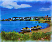 Florida Bridge Mixed Media - Do You Sea Doo by Deborah Boyd