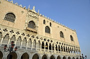 Tourist Destinations Prints - Doges Palace Print by Sami Sarkis