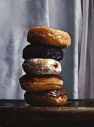 Stacked Paintings - DONUT TOWER no.4 by Larry Preston