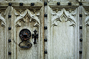 Medieval Entrance Posters - Door handle Poster by Tom Gowanlock