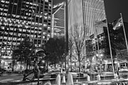 Charlotte Photo Prints - Downtown Charlotte  Print by Mountain Dreams