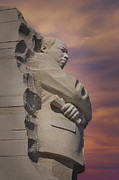 Martin Luther King Prints - Dr. Martin Luther King Jr Memorial Print by Susan Candelario