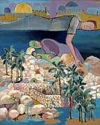 Biblical Art Art - Dreams of Israel by Melanie Lewis