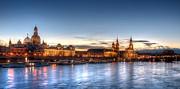 Dresden Skyline Print by Steffen Gierok