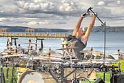 Ruston Prints - Drummer Print by Matthew Ahola