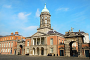 Clocktower Prints - Dublin Castle Print by Artur Bogacki