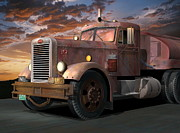 Rivets Art - Duel Truck by Stuart Swartz
