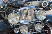 Automobile Framed Prints - Duesenberg Front Chrome Automobile Grille Framed Print by David  Zanzinger