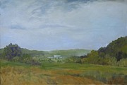 Dundas Paintings - Dundas Valley From York Road by Fred Urron
