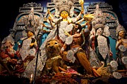 Goddess Durga Photos - Durga idol by Pallab Banerjee