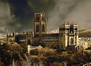 John Adams Digital Art Framed Prints - Durham cathedral Framed Print by John Adams