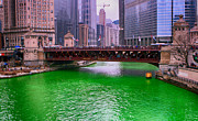 Jerome Lynch - Dyeing The Chicago River...