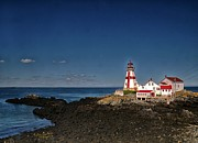 East Quoddy Lighthouse Print by Bob Swanson