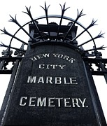 Navema Prints - East Village Cemetery Print by Natasha Marco