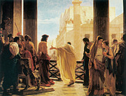 Ciseri Paintings - Ecce Homo by Antonio Ciseri