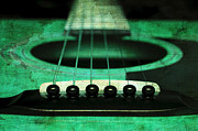 All - Edgy Abstract Eclectic Guitar 15 by Andee Photography