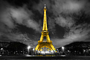 Editorial Framed Prints - Eiffel tower Framed Print by Luciano Mortula