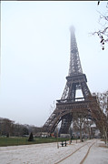 Tourism Photos - Eiffel Tower - Paris France - 011313 by DC Photographer