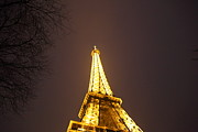 Urban Metal Prints - Eiffel Tower - Paris France - 011316 Metal Print by DC Photographer