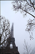 Eifeltower Prints - Eiffel Tower - Paris France - 011319 Print by DC Photographer