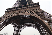 Metropolis Photo Prints - Eiffel Tower - Paris France - 01133 Print by DC Photographer