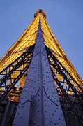 Icon Metal Prints - Eiffel Tower - Paris France - 01136 Metal Print by DC Photographer