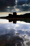 Scottish Scenery Framed Prints - Eilean Donan Castle Framed Print by Grant Glendinning