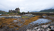 Deserted Castle Framed Prints - Eilean Donan castle Framed Print by Michalis Ppalis