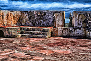 Bastion Framed Prints - El Morro Fortress Old San Juan Framed Print by Thomas R Fletcher
