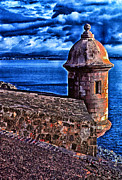 Caribbean Sea Digital Art Framed Prints - El Morro Fortress Framed Print by Thomas R Fletcher