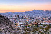 Skylines Art - El Paso by JC Findley