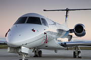 Executive Prints - Embraer Legacy 650 Executive Jet Print by Dustin K Ryan