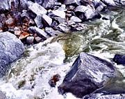 William Havle - Emerald Waters Over Granite
