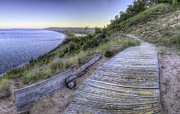Scenic Drive Prints - Empire Bluff Print by Twenty Two North Photography