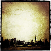 Nyc Digital Art Metal Prints - Empire City Metal Print by Natasha Marco