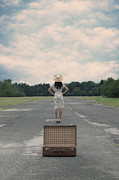 Self Photos - Empty Suitcase by Joana Kruse