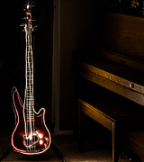 Ibanez Prints - Enlightened Bass Print by Chris McCown