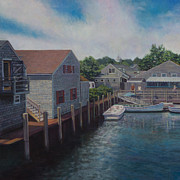 David P Zippi - Entering Nantucket Harbor